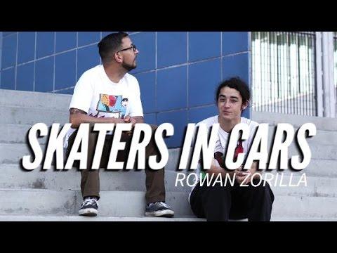 Skaters In Cars: Rowan Zorilla   X Games