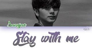 JUNG KEY (정키) YOOK SUNGJAE (육성재) (BTOB) - Stay With Me(니가 내 곁에 머물렀던 시간) Lyrics (ENG/ROM/HAN)