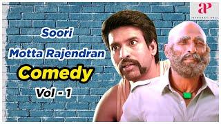 Soori & Motta Rajendran Comedy Scenes   Vol 1   Vishnu Vishal   Atharvaa   Vikram Prabhu   Anandaraj