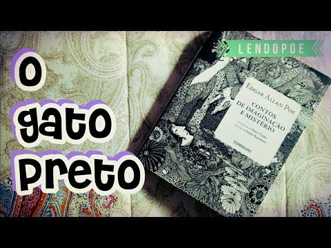 O Gato Preto, de Edgar Allan Poe | Mês do Halloween | #LendoPoe | Pilha de Leitura