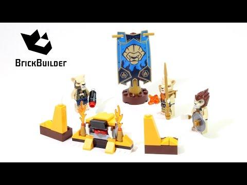 Vidéo LEGO Chima 70229 : La tribu Lion
