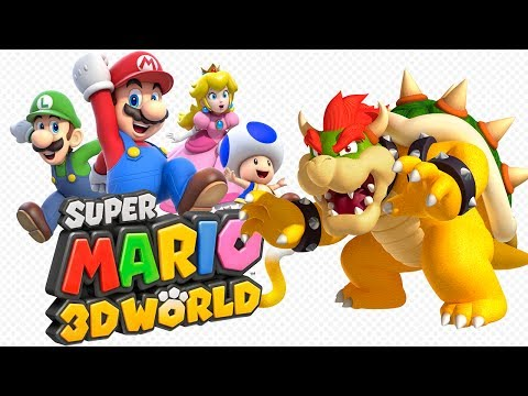 Super Mario 3D World Walkthrough - All Stamp Locations! 100% by