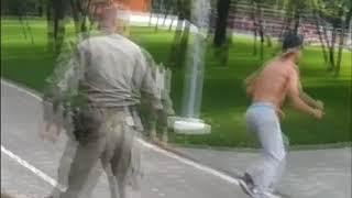 Пьяные АТОшники напали на ларек в Одессе.
