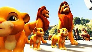 The Lion King Mod- SIMBA FAMILY LIVING THE LIFE