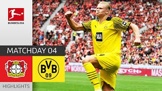 Bayer 04 Leverkusen 3-4 Borussia Dortmund Pekan 4