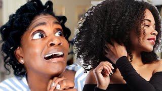 NATURAL. HAIR. ENVY. | Jealous of Thick Natural Hair (4C Thin Natural Hair)