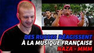 RUSSIANS REACT TO FRENCH MUSIC | Naza   MMM (Clip Officiel) | REACTION