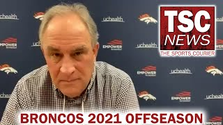 Broncos Head Coach Vic Fangio 2021 Offseason Press Conference
