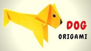 DIY DOG ORIGAMI ТАКСА Собака оригами HAND MADE В этом видео я покажу как сделать таксу из бумаги по технике оригами. Сделать ее очень просто! Заходи на мой канал и подписывайся, там много интересных поделок, которые можно сделать