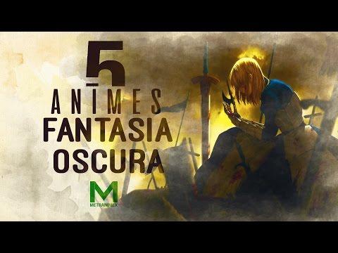 5 Animes de Fantasia Oscura