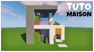 Maison Moderne Minecraft Tuto Perfect Maisons Modernes Maison