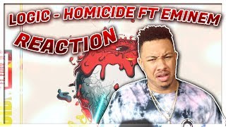 Logic   Homicide (feat. Eminem) (Official Audio) Reaction Video EXCEPT I Dont Believe In Death