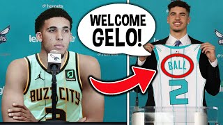 CHARLOTTE HORNETS SIGN LiAngelo Ball BECAUSE OF THIS - JOINS LaMelo Ball