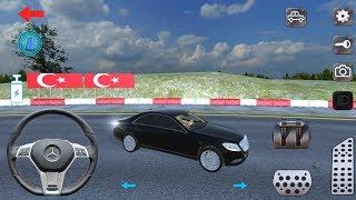 Araba Oyunları - Direksiyonlu Mercedes Benz Oyun Videosu İzle - Car Games For Kids