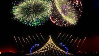 Nieuwjaarskaarten, Vuurwerk simulatie