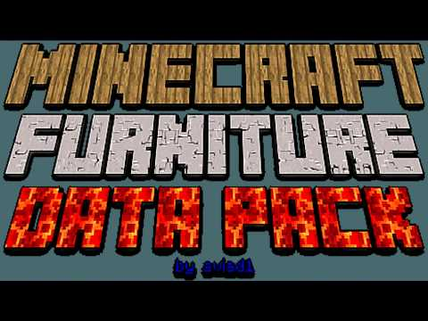 Terrific Furniture Datapack Minecraft Data Pack Camellatalisay Diy Chair Ideas Camellatalisaycom
