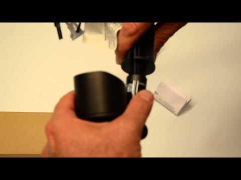 Outdoor LED Malibu 8406-2620-01 flood light fixture unboxing