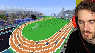 Pewdiepie Minecraft Olympic Games