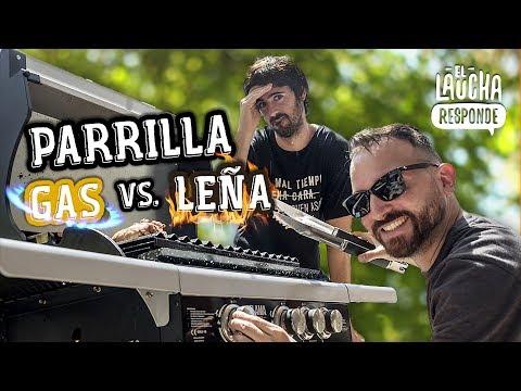 Parrilla a Gas VS Parrilla a Leña - El Laucha Responde FT. Merakio