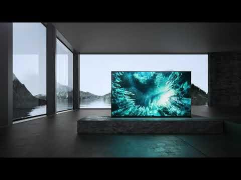 Sony Television KD85ZH8BU - Dark Silver Video 1