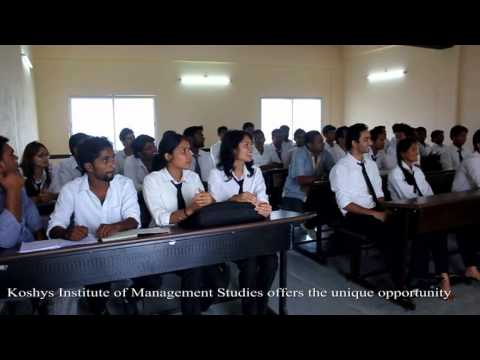 Koshys Inst. Of Management Studies video cover2