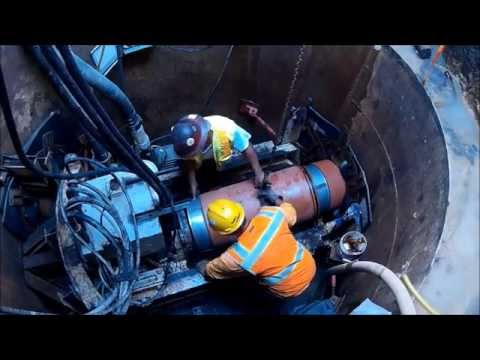 mts Perforator Pipe Steering System Animation - смотреть онлайн на