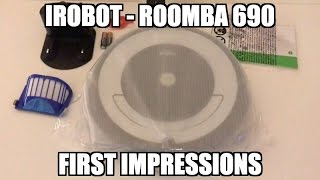 iRobot Roomba 690 - First Impressions