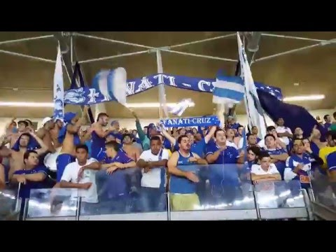 """TFC - Cruzeiro 3 x 2 Campinense - Copa do Brasil 16 - 05/05/2016"" Barra: Torcida Fanáti-Cruz • Club: Cruzeiro"