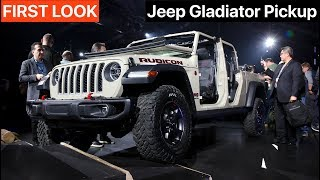 2020 Jeep Gladiator - FIRST LOOK