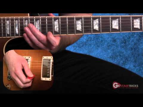 Sweep Picking Lesson 2 - Rock Guitar Lesson - Guitar Tricks 76