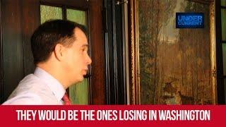 Scott Walker: Unions Will Lose Under My Presidency