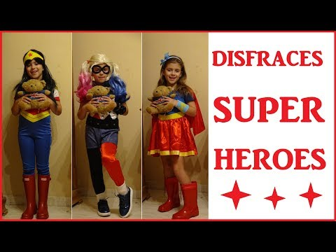 DISFRACES SUPER HEROES - SUPER HERO GIRLS - DISFRACES DE CARNAVAL - DISFRAZ HALLOWEEN