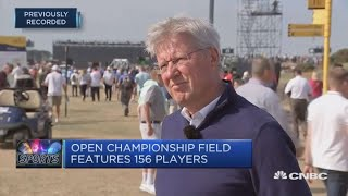 Golfers to face fearsome par-71 Carnoustie golf course | CNBC Sport | Kholo.pk