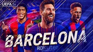 FC Barcelona | GREATEST European Goals & Highlights | Messi, Ronaldinho, Neymar | BackTrack
