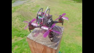 First Flight With Quad From JDOG FPV