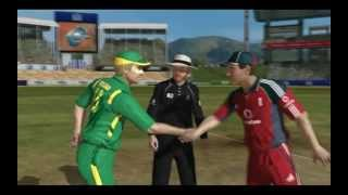 Ashes Cricket 2009 Gameplay/Commentary Part 1/2