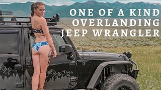 DIY Jeep Wrangler Modifications For Overlanding & Camping | BUILDING OUR JEEP WRANGLER