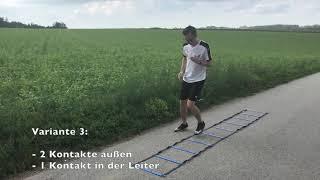 Tutorial Video: Übungen mit der Koordinationsleiter