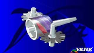 Vilter Single Screw Compressor