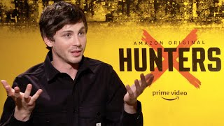 Logan Lerman Interview For Amazon Primes HUNTERS (2020)