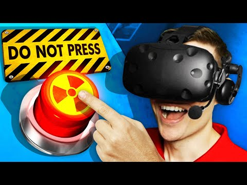 Pressing The FINAL BUTTON *UNBELIEVABLE ENDING* (Please, Don't Touch Anything 3D VR Funny Gameplay)
