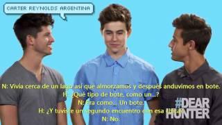 NASH GRIER AND CAMERON DALLAS EMBARRASING FIRST DATES! | Traducido Al Español.