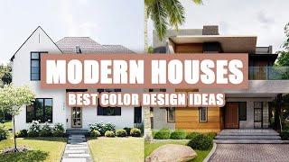 50+ Best Modern Exterior House Color Ideas 2020