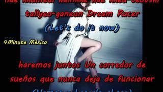 4Minute - Dream Racer (Sub-Esp + Romanización + Lyrics)