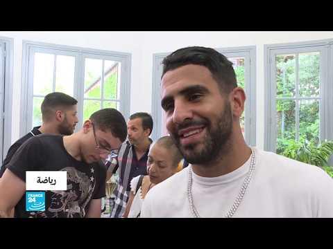 العرب اليوم - شاهد: الجزائري رياض محرز يتوج بجائزة أفضل لاعب مغاربي