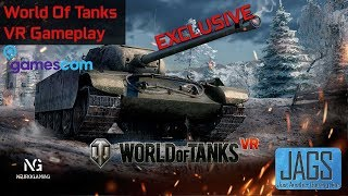 Awesome New VR Game | World Of Tanks VR | Gamescom 2018