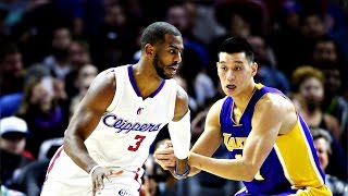 Jeremy Lin林書豪-01/07/2015 Lakers vs Clippers 湖人vs快艇