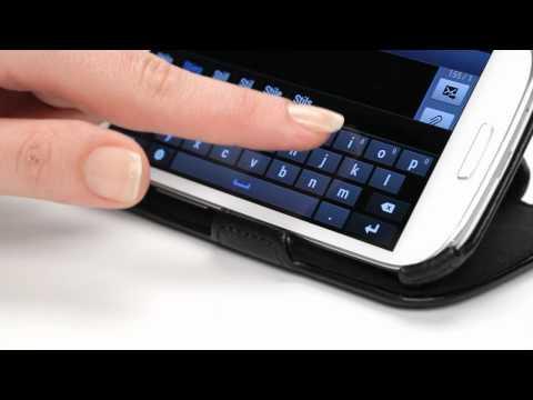 Stilgut - UltraSlim Case für Samsung Galaxy S 3 i9300 mit Standfunktion