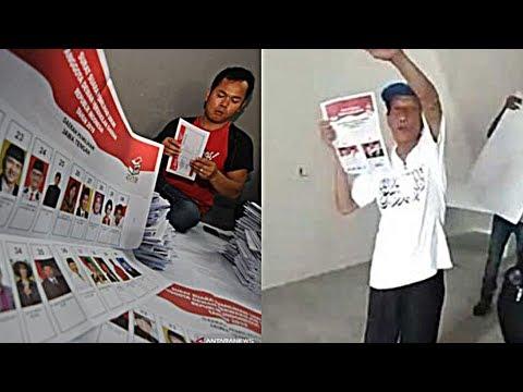 Bawaslu Sebut Surat Suara Tercoblos di Malaysia Bukan Hoaks