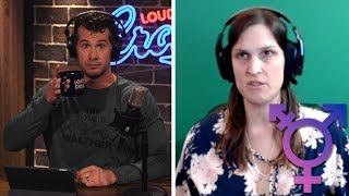 TRANSGENDER DEBATE: Crowder Argues Science  vs. Julie Rei Goldstein Uncut) | Louder With Crowder